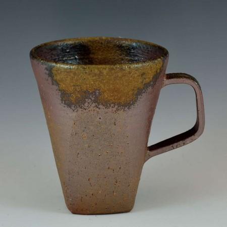テーパードコーヒーマグカップ